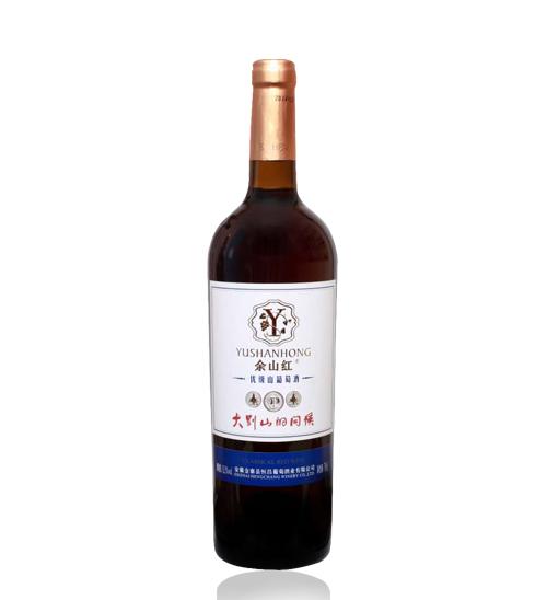 余山红优级山葡萄酒